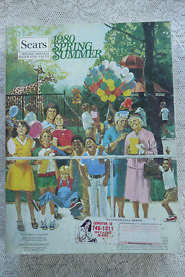 Vintage 1980 Sears Roebuck Spring & Summer Catalog