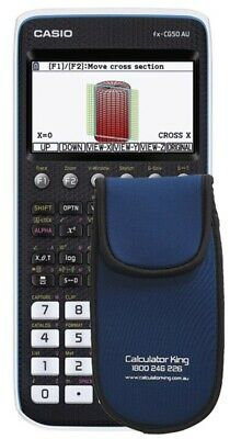 Casio FX-CG50AU Colour Graphic Calculator - BONUS PADDED WALLET
