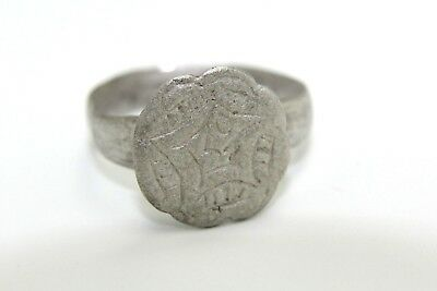 Excellent Roman Solid Silver Ring. Ready To Wear!     2V13