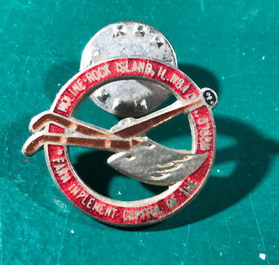 Early Horse Drawn Plow Pin from Moline Rock Island, Il.