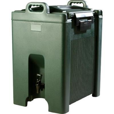 Carlisle Cateraide Insulated Beverage Server 10 Gallon Forest Green XT1000008
