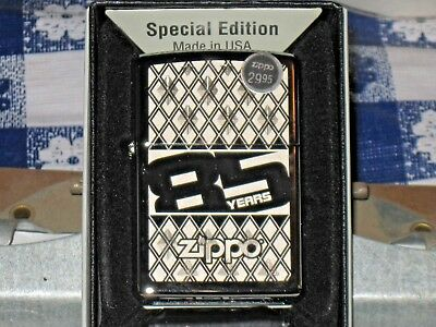 New Zippo Made USA Windproof Lighter 85 Years Anniversary 29438 Special Edition