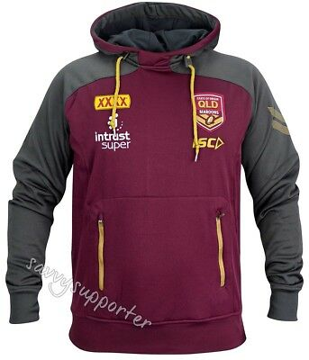 Queensland Maroons State of Origin 2018 NRL Pullover Squad Hoody Mens & Ladies