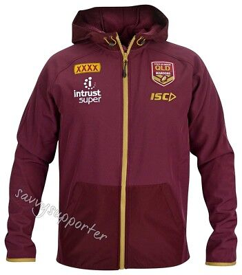 Queensland Maroons State of Origin 2018 NRL Tech Pro Hoody Jacket Mens & Ladies