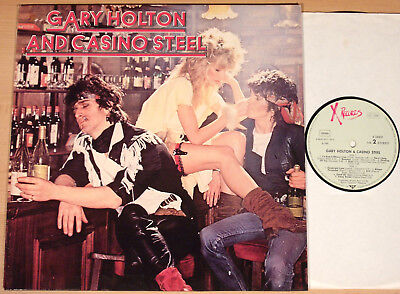 GARY HOLTON AND CASINO STEEL - same  (X-RECORDS, D 1981 / LP vg++/m-)