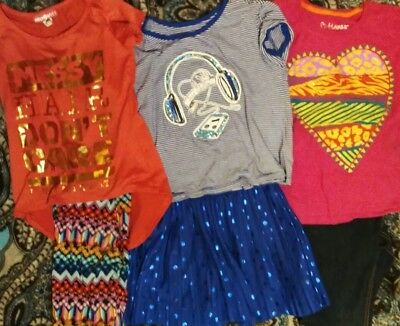 ***Girls Size 7 Lot of 3 Outfits**perfect for Spring includes one justice outfit