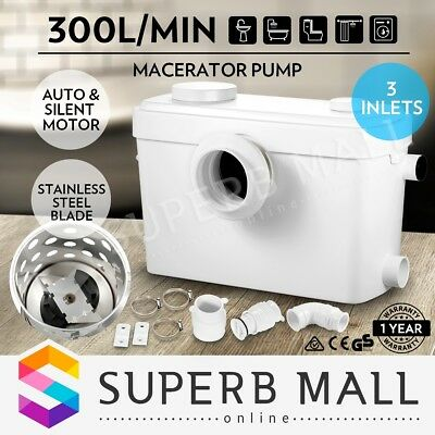 Auto Waste Water Macerator Sewerage Pump Toilet Marine Disposal Unit Laundry