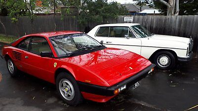 1984 Aust Delivery ferrari mondial 8 Registered and perfect