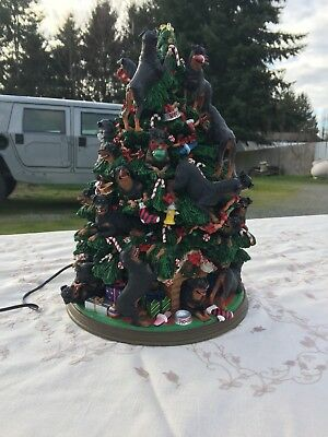 Danbury Mint Rottweiler Christmas Tree -Retired- New in Box