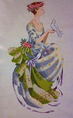 Queen of Peace - Cross Stitch Chart - Free Postage