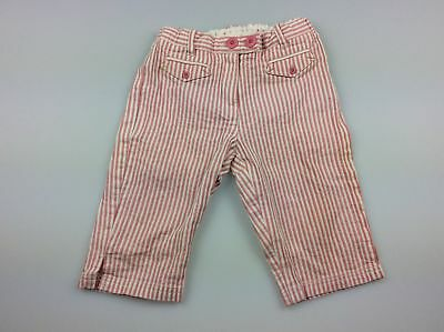 Jacadi, cotton pants adjustable waist, EUC, size 3