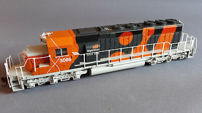 Bachmann Sd40-2 #3086 Bhp Ex-Set As New Excellent Runner Unboxed Ho Gauge(Fy)