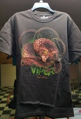 T-Shirt LARGE // Viper roller coaster - Six Flags Magic Mountain