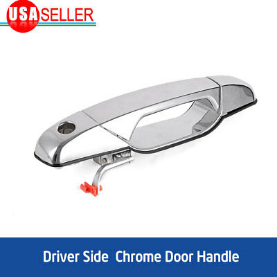for 07-13 Chevy GMC Cadillac Front Left Driver Side Chrome Exterior Door Handle