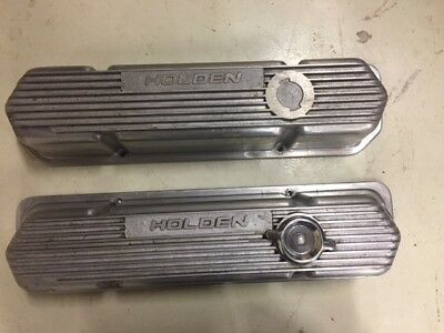 Holden V8 Engine Cast Alloy Rocker Covers 253 308 355