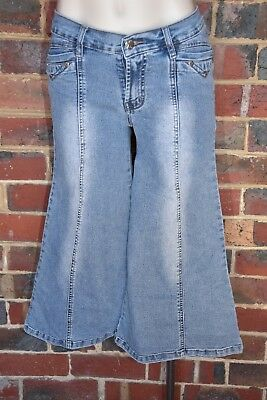 JEAN PERRIE Vintage Cullote Jeans - Size 10 - EUC