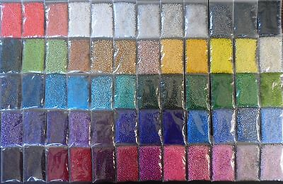 10x Bags - Size 9 Glass Seed Beads - 2.6mm - 200g - High Quality - Bulk Mixed