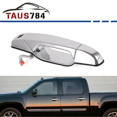 Chrome Outside Door Handle for 07-13 Chevy GMC Cadillac Front Left Driver Side