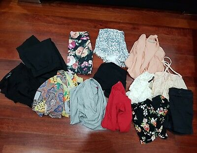 bulk lot of ladies size XS and S clothes