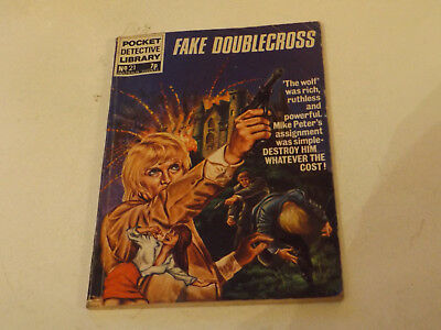 POCKET DETECTIVE PICTURE LIBRARY,NO 21,1970`S ISSUE,V GOOD FOR AGE,45 yrs old.
