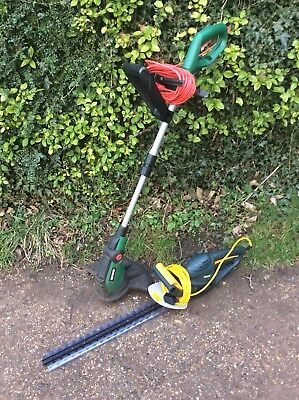 Qualcast Garden Grass Trimmer Strimmer Tesco Hedge Cutter Garden Tools Electric