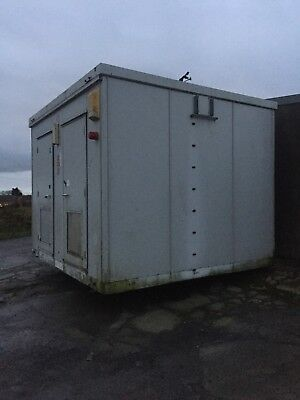 11 1/2 FT X 10 1/2 FT STORAGE CONTAINER (Ex Telecoms)