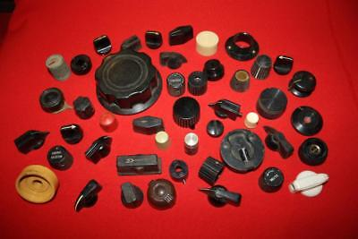 Group Of Knobs To Suit Valve Radio. Lot 2