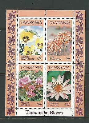 1986 Flowers Mini Sheet  Complete MUH/MNH as Purchased at Post Office
