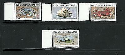 1985 Crabs set of 4 Stamps 2nd set Complete MUH/MNH as Purchased at Post Office