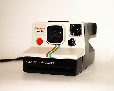 POLAROID OneStep RAINBOW Instant Camera - Excellent Condition  - 100% Working