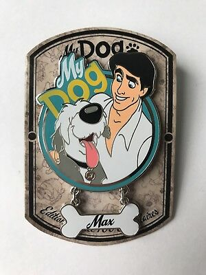 Disney Pin DLP My Dog Max Eric The Little Mermaid La Petite Sirène LE700