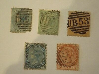 Collection of stamps from MAURITIUS : 1860-1883