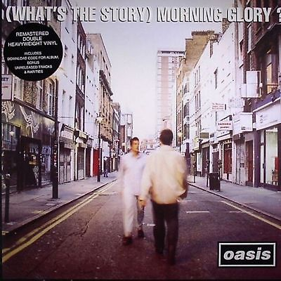 Oasis Whats The Story Morning Glory 180 gram Double Vinyl LP Reissue 2014 Sealed