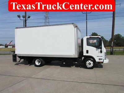 2012 NPR HD Diesel / 16` Van Body / 2000lb Liftgate / more in stock