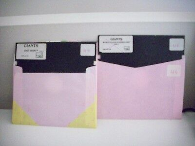 Giants Floppy Disc For Commodore 64 / 128 Vintage - 2 Games -