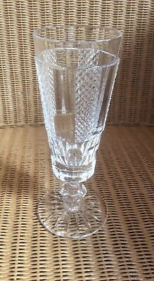 Waterford Crystal Hibernia Master Cutter Champagne Flute, Very Rare