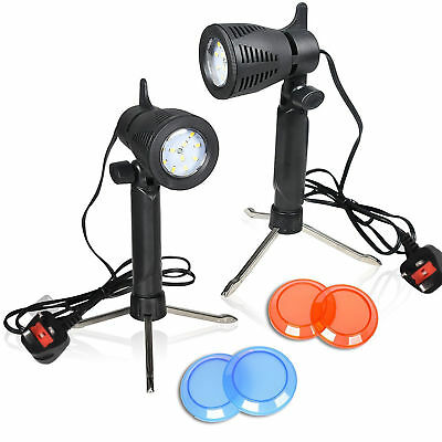 TFJ Photography Continuous 12 LED Lamp Portable Lighting Table Top Studio Light