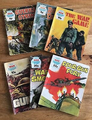 Six issues of War Picture Library