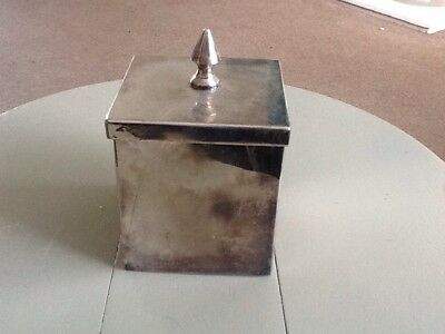 Parks Of London Old Silver Plated Box