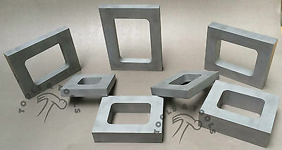 7 Aluminum Mold Frames Set Cavity Vulcanizer Rubber Jewelry Making Casting Tools