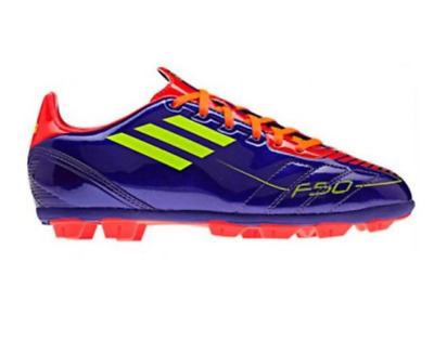 NEW Adidas F10 TRX HG J Shoes Football Trainers Moulded Studs Kids Purple G40267