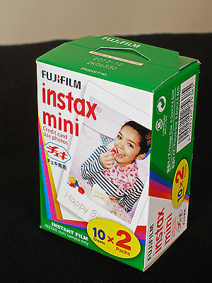 Fujifilm Instax Mini Film 2 Films Für 20 Photos
