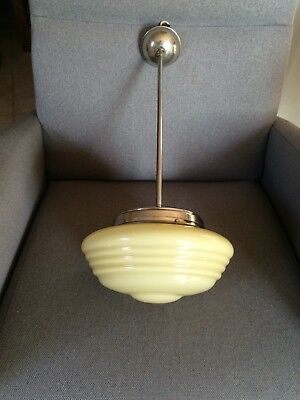 Lampadario Lampada Originale Epoca Vintage Italy Design Art Deco Living Home