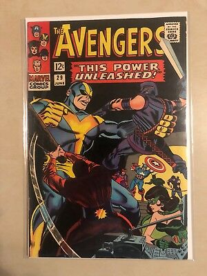 Avengers 29 !! Vg-Vg+ !! Classic S.a. !!! Giant Sale !! No Reserve !!