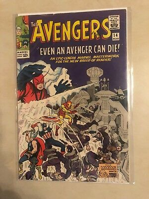 Avengers 14 !! Vg-Vg+ !! Classic S.a. !!! Giant Sale !! No Reserve !!