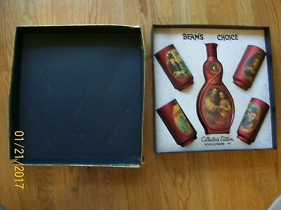 Beam's Choice Collector's Edition V -Kit w/ 4 Glasses All Original FREE SHIPPING