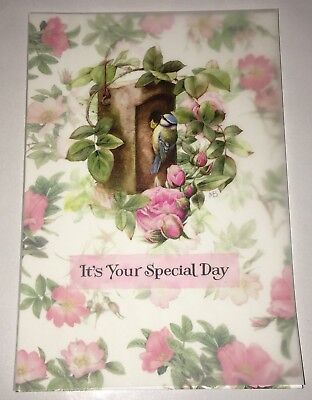 Marjolein Bastin Hallmark Nature's Sketchbook Happy Mother's Day Card Bird House