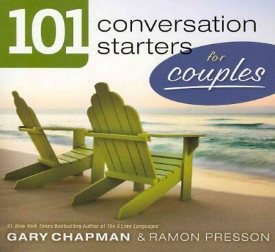 101 Conversation Starters for Couples by Gary Chapman 9780802408372