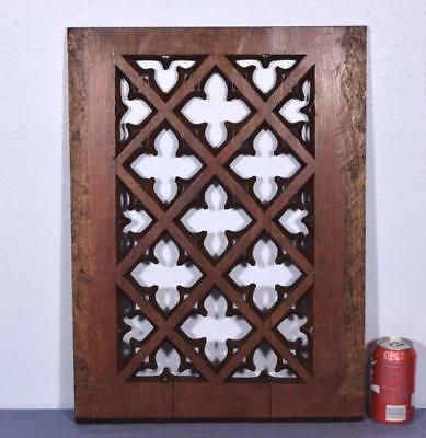 *French Antique Gothic Revival Panel in Oak Wood Salvage