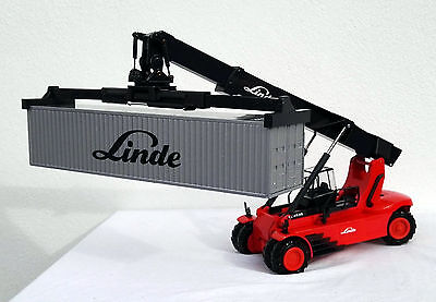 reach stacker linde c4535 mit 40 fuss container linde. Black Bedroom Furniture Sets. Home Design Ideas